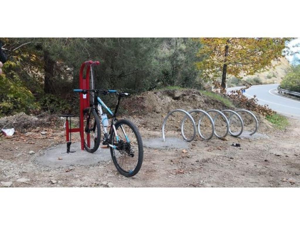 Νέες υποδομές για ποδηλάτες στο Τρόοδος